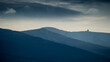 Piękny widok na polskie góry Karkonosze 2021