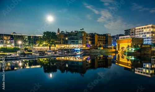 Wrocław nocą lato 2021