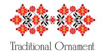 Traditional Ukranian Ornament Ornamental