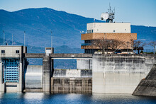 阿木川ダム堰堤