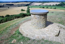 RAC Observation Point On Burrough Hill, An Iron Age Fort 7 Miles South Of Melton Mowbray In The English County Of Leicestershire