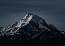 Snow Covered Mountain Peaks, Background