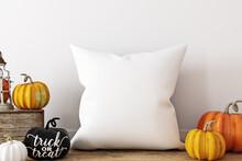 Pillow Mockup Halloween