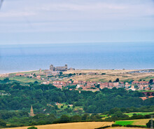 Whitby Abbey Photography Taken From The North Yorkshire  Moors