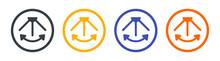 Oscillation Icon Vector Illustration.