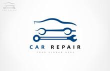 Car Repair Logo. Auto Illustration.