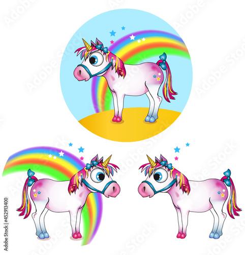 Jednorożec, unicorn, bajka, fantastyczne, fantasy