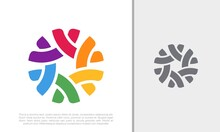 Global Community Logo Icon Elements Template. Community Human Logo Template Vector. Community Health Care. Abstract Community Logo. Social Networking Logo Designs.