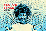 Vector Style Effect