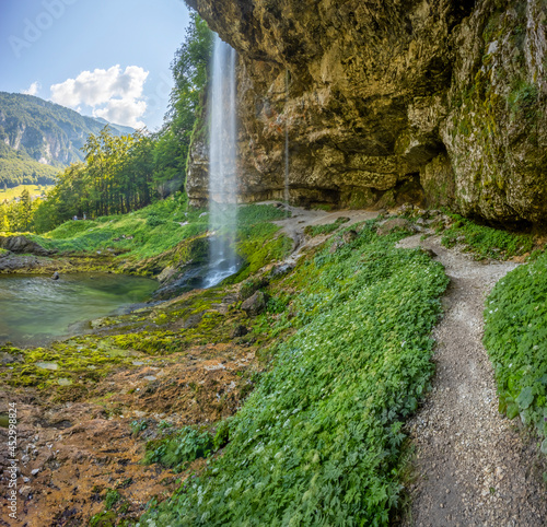 Goriuda waterfall (Fontanon di Goriuda), Province of Udine, Italy