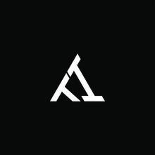 TI Letter Logo Creative Design. TI Unique Design