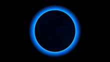 Total Eclipse The Sun And Moon, Illustration
