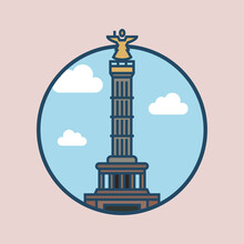 World Famous Building - Victory Column Berlin