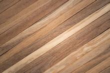Teak Wooden Lath Pattern Texture Background