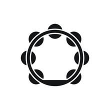 Tambourine Icon Design Vector Illustration
