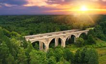 Famous Stone Bridges In Stanczyki Village - Podlasie, Poland