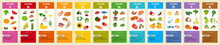 Infographics Vitamin B12. Products Containing Vitamin. Daily Norm. Symptoms Of Deficiency. Vector Medical Poster. Vitamins And Minerals Of Orange Fruit, Vitamin Infographics Template