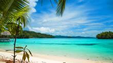 Indonesia Bali Sea Coast Palm Waterfall Beach Ocean Boat