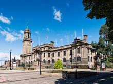 South Shields Town Hall, South Tyneside, UK