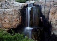 MOONLIGHT LAKE WATERFALL