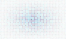 Abstract Blue Sparkle Halftone Background