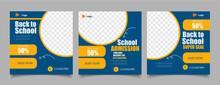 School Admission Social Media Template Premium Psd