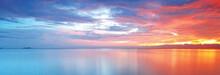 Sunset Sea View Beautiful Scene