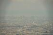 Leinwandbild Motiv 六甲山から見える大阪の町並み