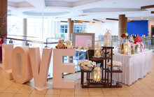 Luxury Wedding Rom Banquet Sit Down Buffet Party Catering With Flower Decoration Fusion Halal Menu At Beautiful Hotel Restaurant Vip Ballroom