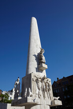 The National Monument On Dam Square, Amsterdam, Netherlands