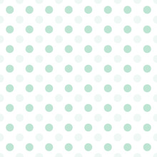 Small Green Dots Half Drop Repeat Seamless Pattern Background