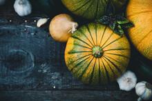 Harvest Of Seasonal Vegetables