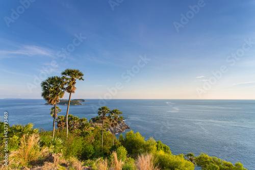 Fotografie, Obraz Laem Phrom Thep (Phrom Thep Cape) is a viewpoint at Phuket island of Thailand
