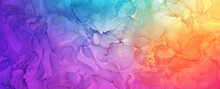 Vibrant Artistic Alcohol Ink Art, Bright Abstract Colorful Background Texture Wallpaper