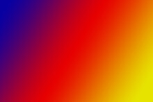 Background In The Form Of A Blue-red-yellow Overflow