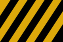 Background In The Form Of Black And Yellow Stripes