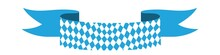 Bavarian Ribbon Oktoberfest Seamless Pattern With Blue And White Rhombus Flag Of Bavaria Oktoberfest Blue Checkered Background Wallpaper Vector Old Diamonds Background With Cracks And Dust