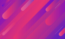 Abstract Colorful Geometric Background. Dynamic Shapes Composition Vector Design