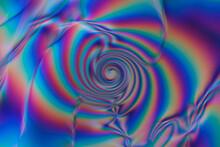 Abstract Textured Luminous Purple Background