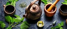 Herbal Tea With Nettle,stinging Nettle