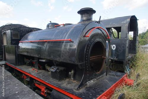 Fototapeta Old steam train at  Colne Valley Railway