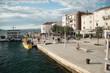 przystań w mieście Pag, Chorwacja