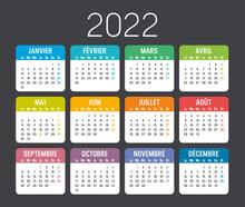 Calendrier Agenda 2022