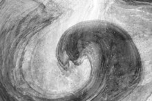 Abstract Background Of Liquid Paint Wave Fluid Art