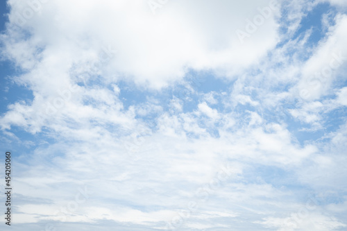 Fototapeta Natural Clouds in the blue sky on sunny day