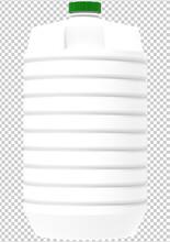 Plastic Bottle Green Cap Png