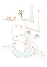 トイレのベクターイラスト