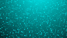 Abstract Dot Green Blue Pattern Gradient Texture Technology Background.