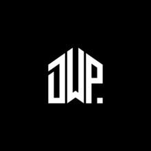 DWP Letter Logo Design On Black Background. DWP Creative Initials Letter Logo Concept. DWP Letter Design.