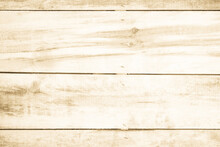 Brown Wood Texture Background. Wood Planks Old Of Table Top View Grain Hardwood Panel Floor.